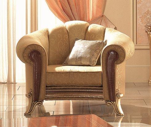 Arredoclassic Giotto Italian Fabric Armchair