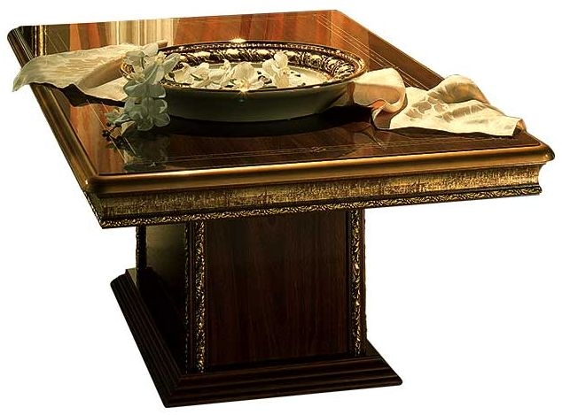 Arredoclassic Giotto Walnut Italian Coffee Table