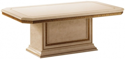 Arredoclassic Leonardo Golden Italian Coffee Table