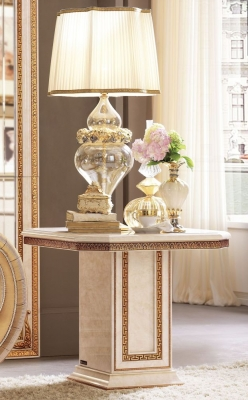 Arredoclassic Leonardo Golden Italian Lamp Table