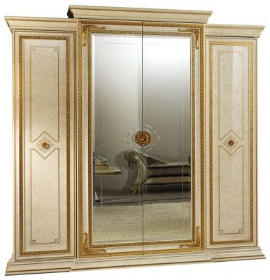 Arredoclassic Leonardo Golden Italian 4 Door Wardrobe
