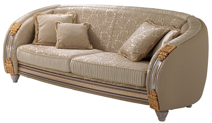 Arredoclassic Liberty Italian 3 Seater Fabric Sofa