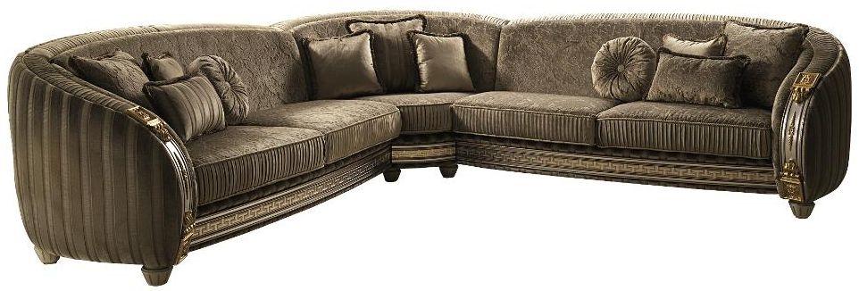 Arredoclassic Liberty Italian Corner Fabric Sofa