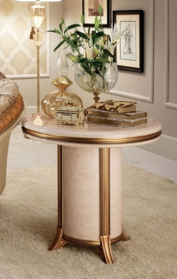 Arredoclassic Melodia Golden Italian Lamp Table