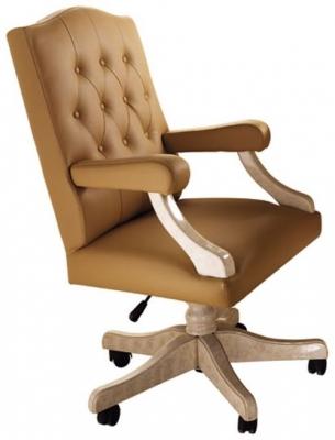 Arredoclassic Melodia Golden Italian Office Armchair