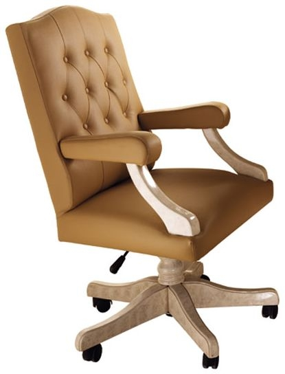 Arredoclassic Melodia Golden Italian Office Armchair