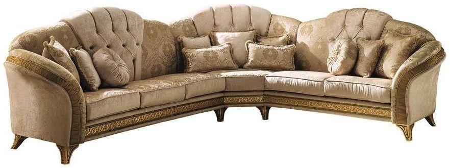 Arredoclassic Melodia Italian Fabric Corner Sofa