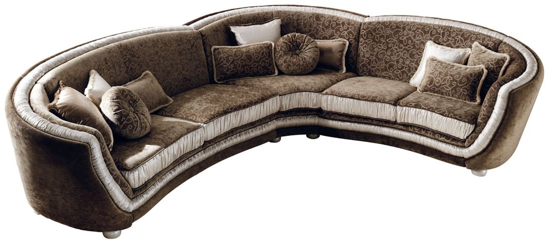 Arredoclassic Miro Italian Corner Fabric Sofa