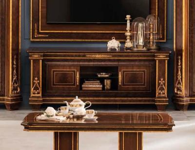 Arredoclassic Modigliani Mahogany Italian 2 Door TV Cabinet
