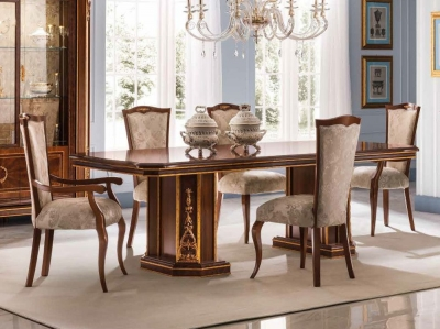 Arredoclassic Modigliani Mahogany Italian 200cm-250cm Rectangular Extending Dining Table