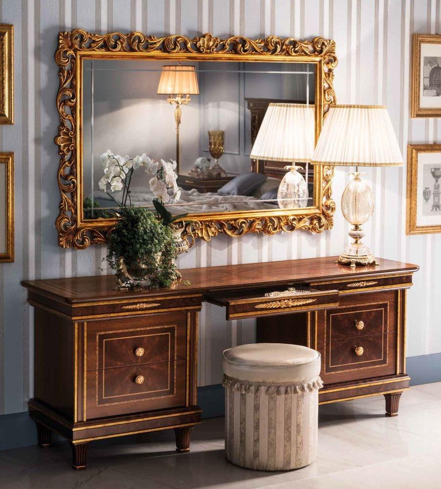 Arredoclassic Modigliani Mahogany Italian 4 Drawer Dressing table