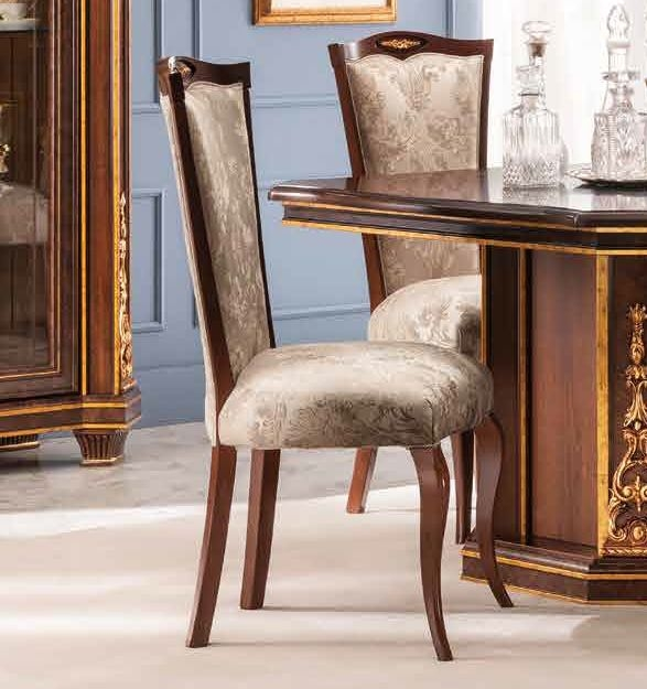 Arredoclassic Modigliani Mahogany Italian Dining Chair (Pair)