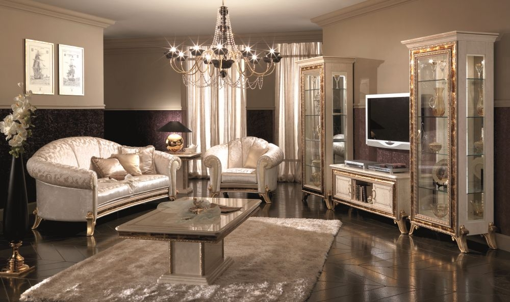 Arredoclassic Raffaello Italian 3+1+1 Seater Fabric Sofa Suit