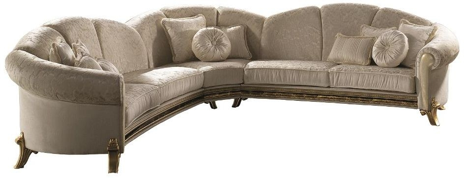 Arredoclassic Raffaello Italian Corner Fabric Sofa