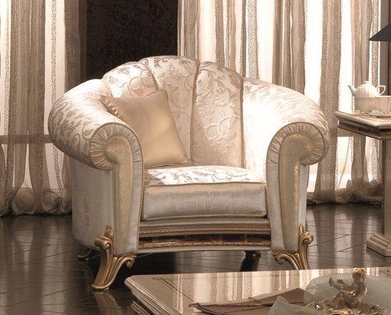 Arredoclassic Raffaello Italian Fabric Armchair