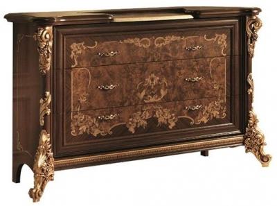 Arredoclassic Sinfonia Walnut Italian 3 Drawer Dresser