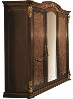 Arredoclassic Sinfonia Walnut Italian 3 Door Wardrobe