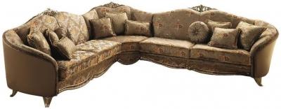 Arredoclassic Tiziano Italian Fabric Corner Sofa
