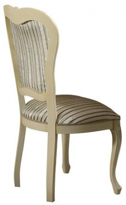 Arredoclassic Tiziano Silver Italian Fabric Dining Chair (Pair)