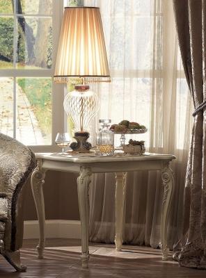Arredoclassic Tiziano Silver Italian Lamp Table