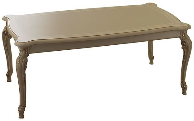 Arredoclassic Tiziano Silver Italian Coffee Table