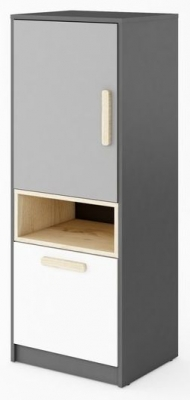 Florence Graphite Cabinet