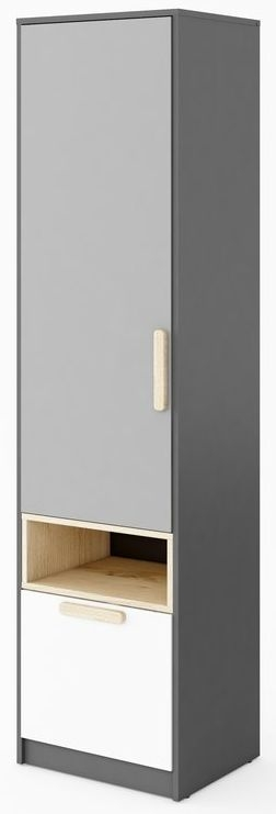 Florence Graphite Tall Cabinet