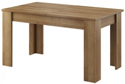 Lincoln Riviera Oak Extending Dining Table