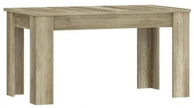 Lincoln Country Oak Extending Dining Table