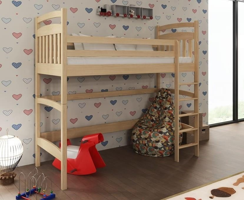 Tulare Pine Wooden Bunk Bed