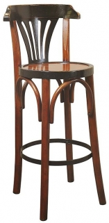 Authentic Models Grand Hotel Honey De Luxe Barstool