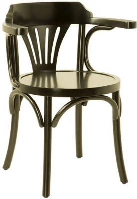 Authentic Models Black Navy Chair