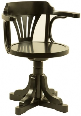 Authentic Models Black Pursers Chair