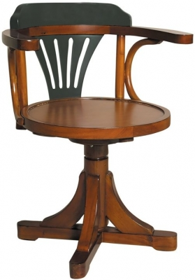 Authentic Models Grey and Honey Pursers Chair