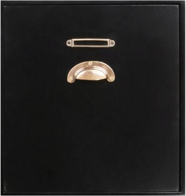 Authentic Models Endless Regency 1 Drawer Black Insert Box - MF238