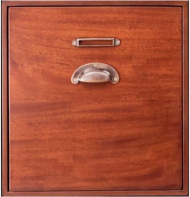 Authentic Models Endless Regency 1 Drawer Honey Insert Box - MF237