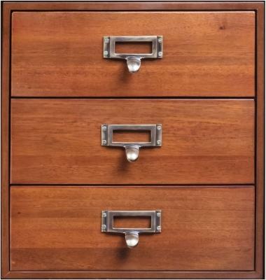 Authentic Models Endless Regency 3 Drawer Honey Insert Box - MF235