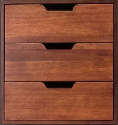 Authentic Models Endless Regency 3 Drawer Honey Insert Box - MF239