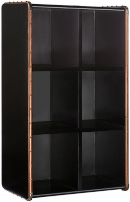Authentic Models Endless Regency 6 Black Interior Shelf Unit - MF231