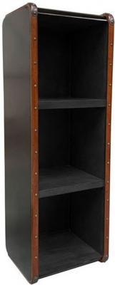 Authentic Models Endless Regency Black Interior Large Shelf Unit - MF216