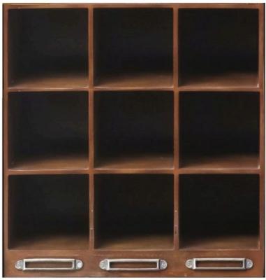 Authentic Models Endless Regency Honey Insert Wine Rack Box - MF233
