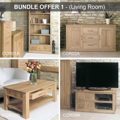 Baumhaus Mobel Oak Living Room Package