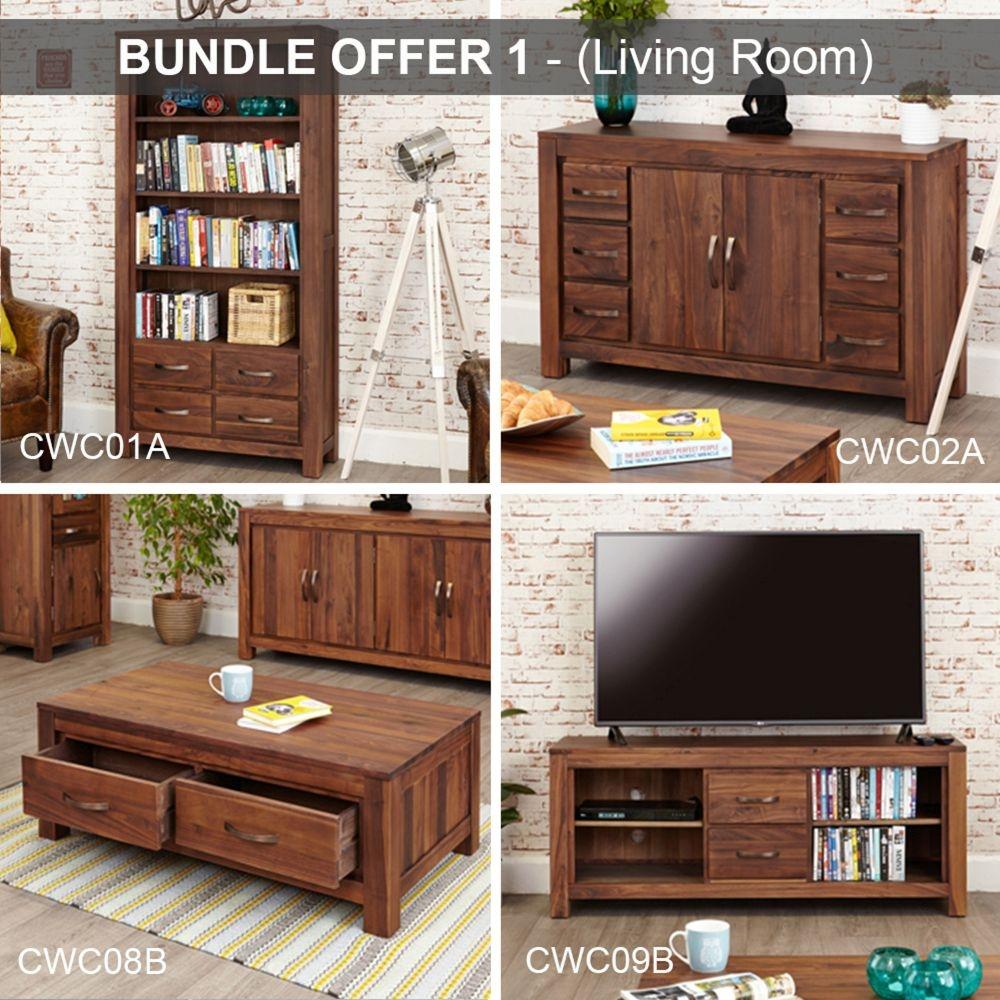 Baumhaus Mayan Walnut Living Room Package