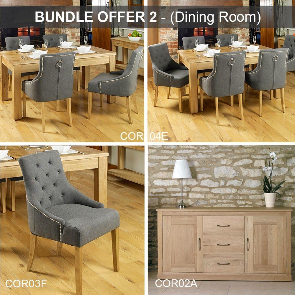 Baumhaus Mobel Oak Dining Room Package