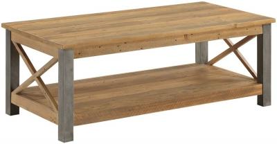 Baumhaus Urban Elegance Reclaimed Wood Coffee Table