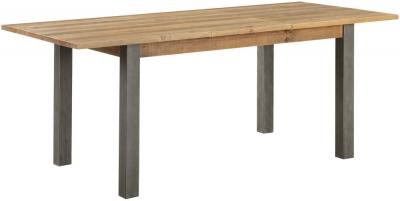Baumhaus Urban Elegance Reclaimed Wood Extending Dining Table