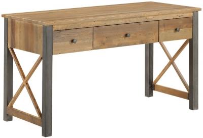 Baumhaus Urban Elegance Reclaimed Wood Home Office Desk