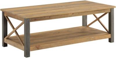 Baumhaus Urban Elegance Reclaimed Wood Large Coffee Table