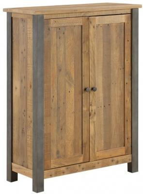Baumhaus Urban Elegance Reclaimed Wood Large Shoe Storage Cupboard