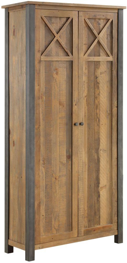 Baumhaus Urban Elegance Reclaimed Wood Storage Cabinet